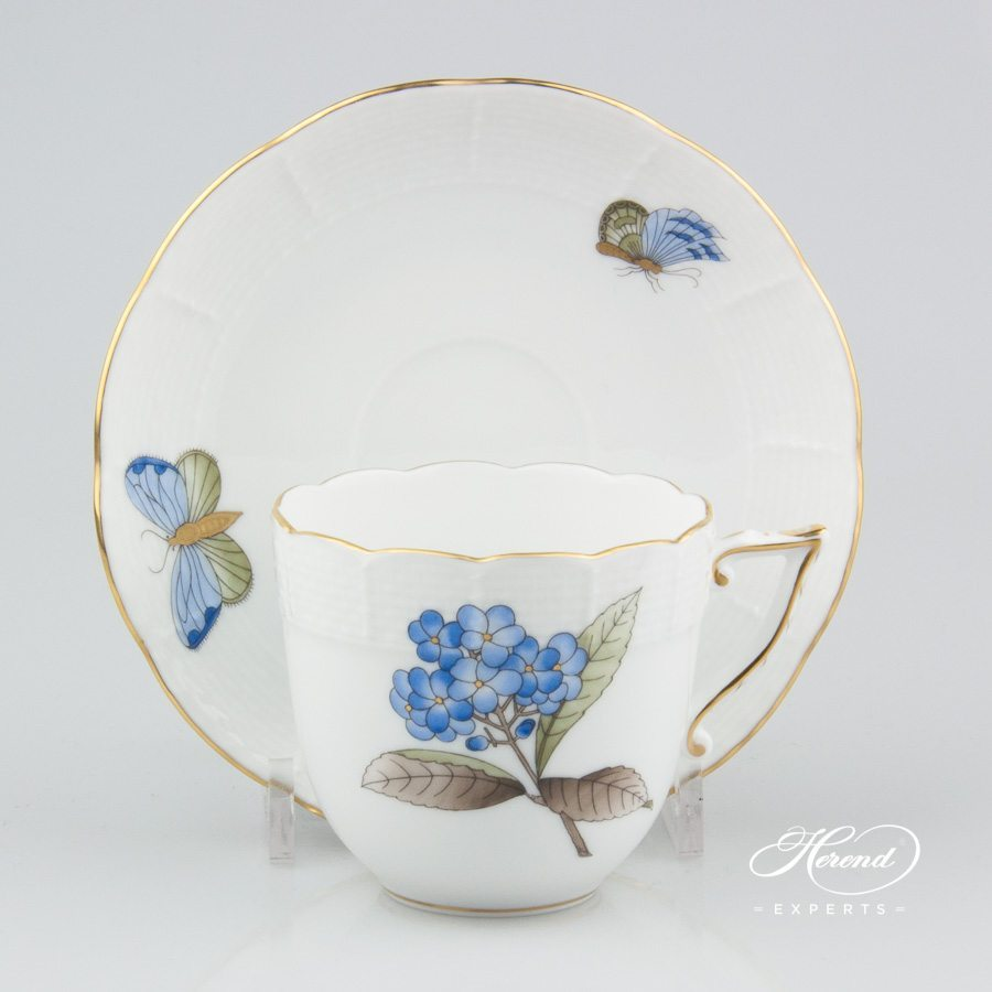 咖啡杯 – 维多利亚大花版 – 赫伦细瓷