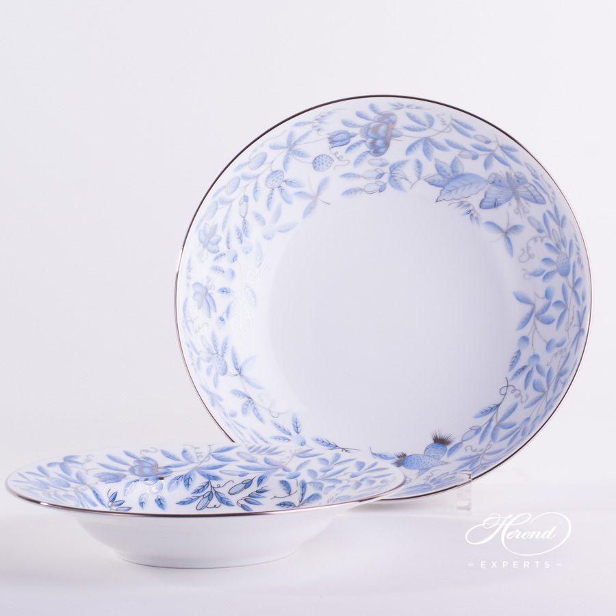 沙拉盘 – 蓝色动物园 – 赫伦细瓷