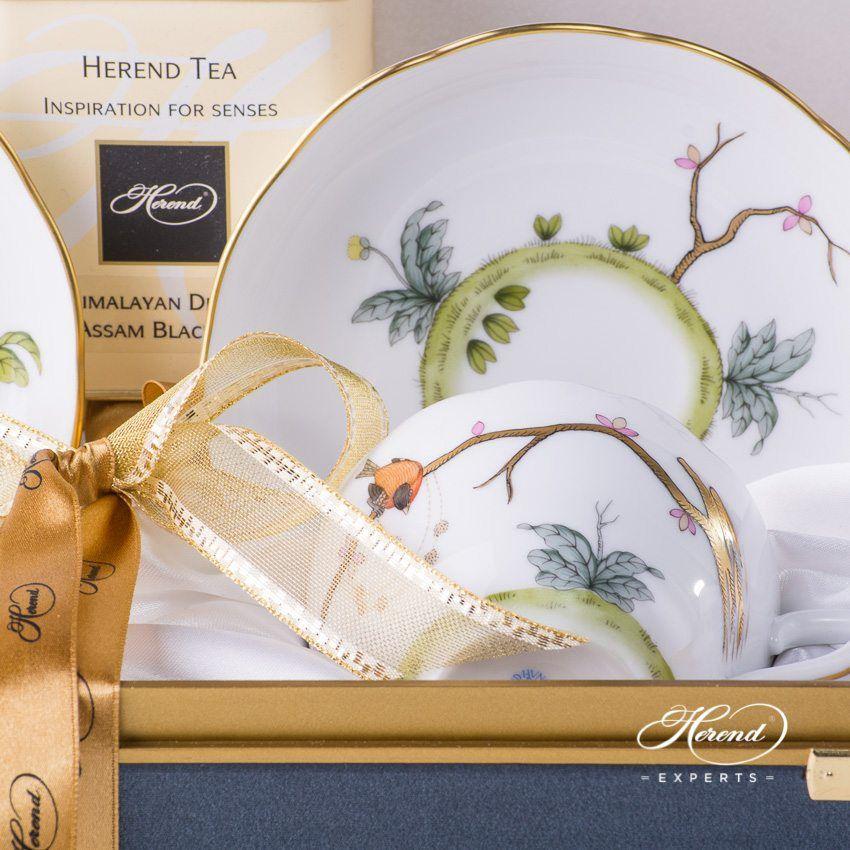 双人份茶杯礼盒装 – 梦幻花园- 赫伦细瓷