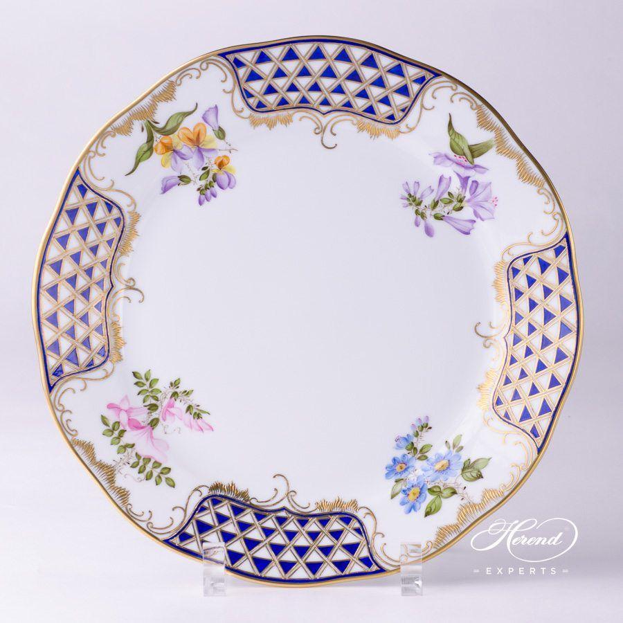 餐盘 – 马赛克鲜花 – 赫伦细瓷