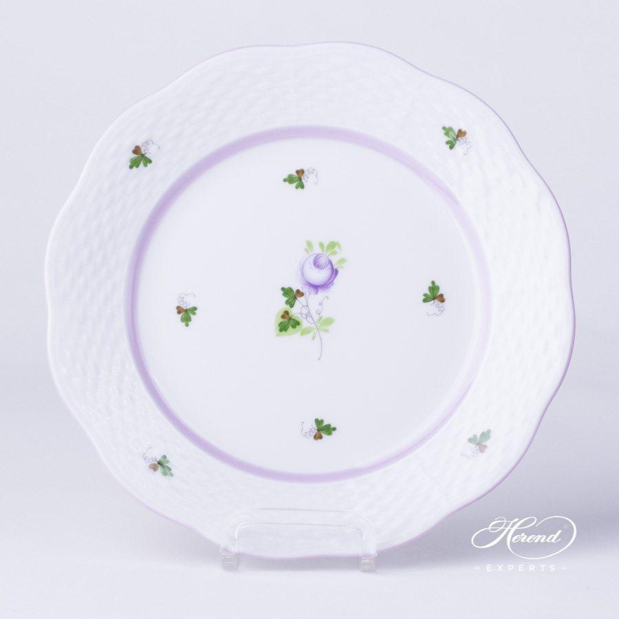 甜点盘 – 维也纳玫瑰 / 维也纳玫瑰 丁香色- 赫伦细瓷