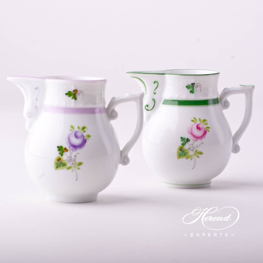奶缸 – 维也纳玫瑰 / 维也纳玫瑰 丁香色 – 赫伦细瓷