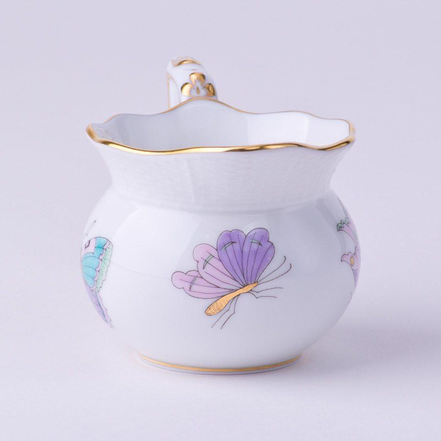 奶缸– 皇家花园绿松石 – 赫伦细瓷