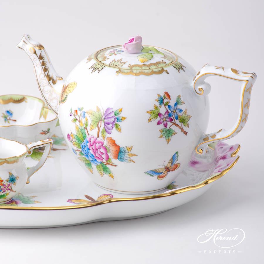 茶壶 – 维多利亚女王 – 赫伦细瓷
