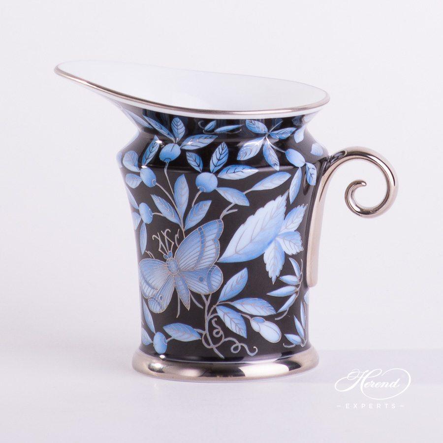 奶罐 – 动物园蓝色 – 赫伦细瓷