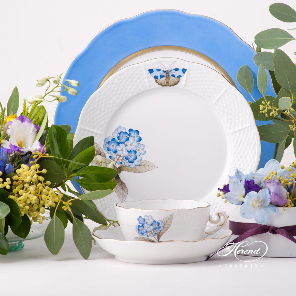 餐位餐具4件 – 维多利亚大花版- 赫伦细瓷