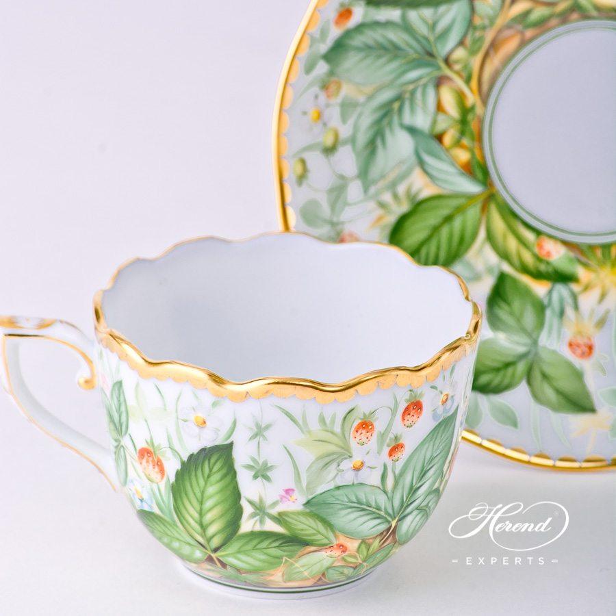 咖啡杯 – 草莓- 赫伦细瓷