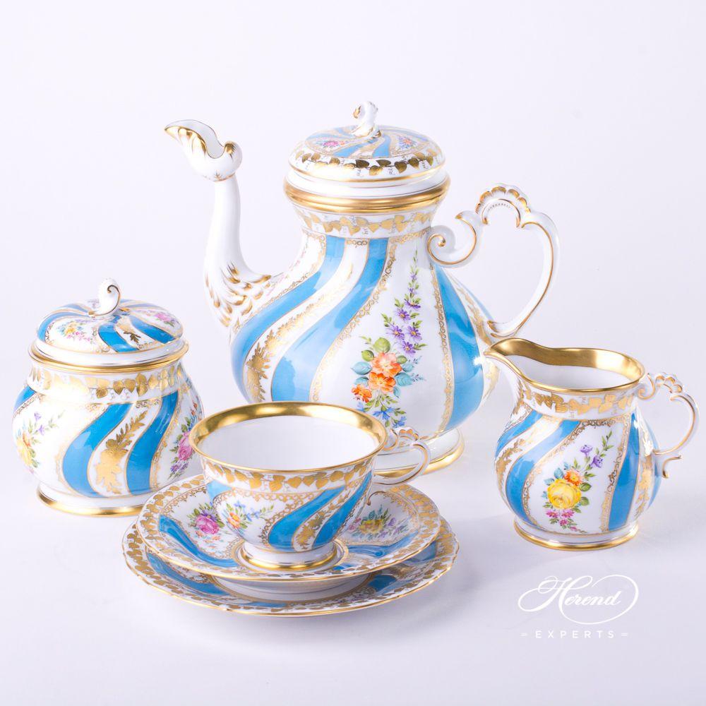 茶 / 咖啡壶 – Colette(科莱特) – 赫伦细瓷