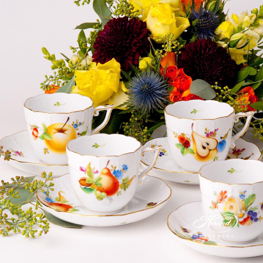 咖啡杯 – 水果 – 赫伦细瓷