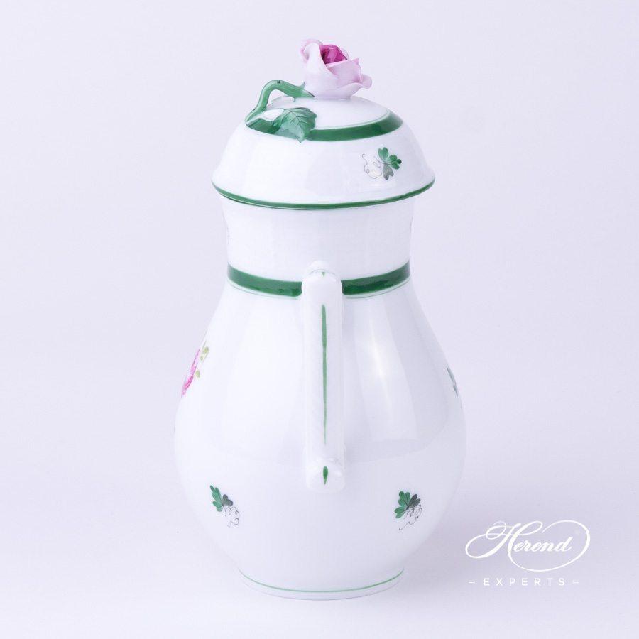 咖啡壶 – 维也纳玫瑰 / 维也纳玫瑰 – 赫伦细瓷