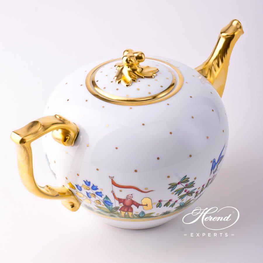 茶壶 – 东方杂耍系列 – 赫伦细瓷