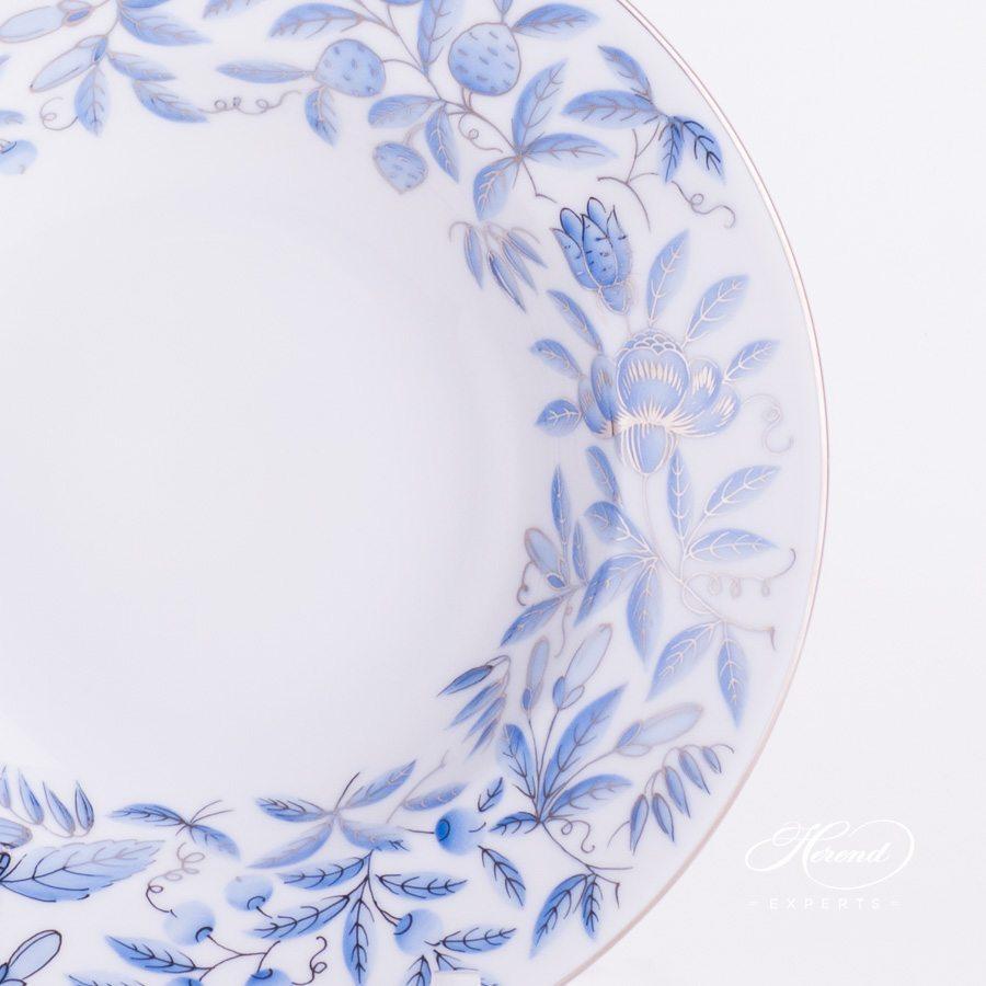 汤盘 – 动物园蓝色 – 赫伦细瓷