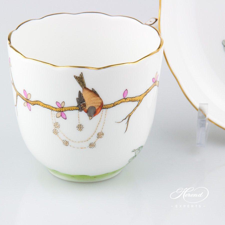咖啡杯 – 梦幻花园- 赫伦细瓷