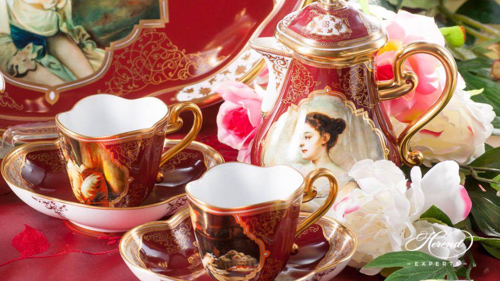 Beautiful Ladies limited espresso set.