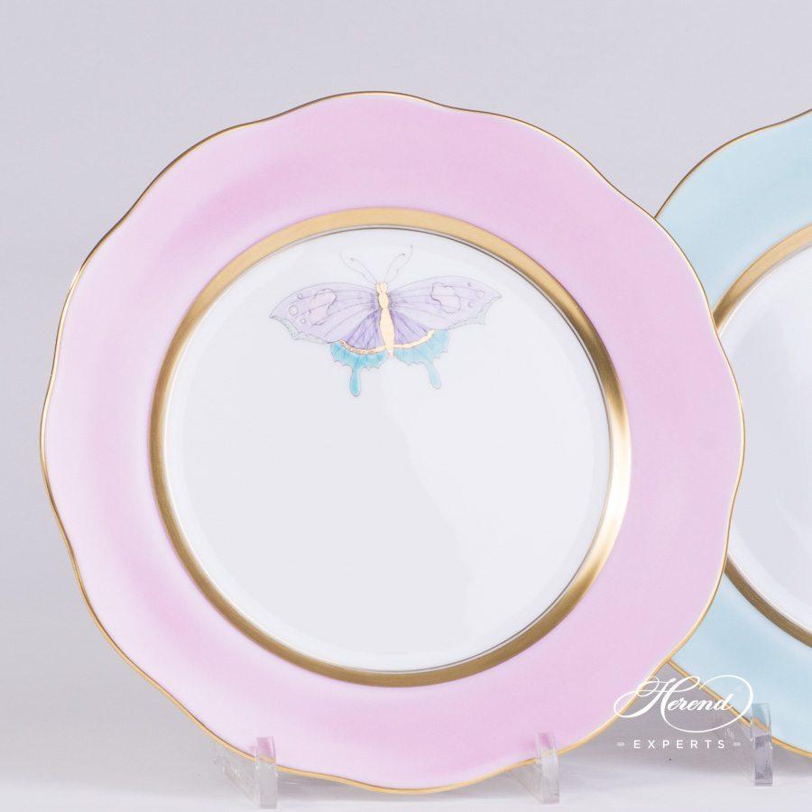 甜点碟– 皇家花园绿松石 – 赫伦细瓷