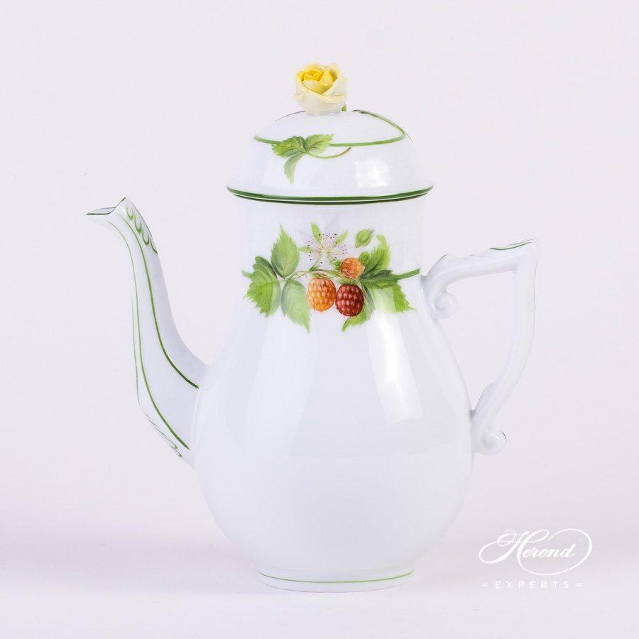 咖啡壶– 浆果 – 赫伦细瓷