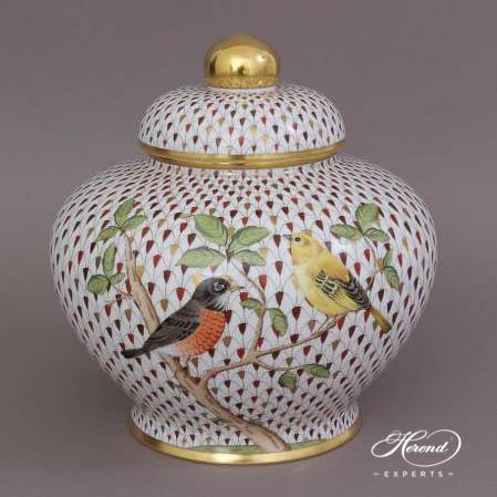 姜罐 – 镀金鱼鳞纹特别款 – 赫伦细瓷
