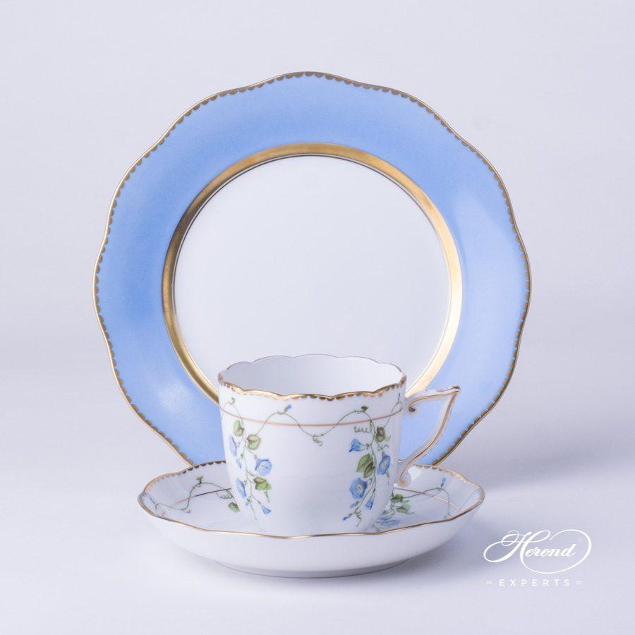 配甜点盘咖啡杯 – 尼翁 – 赫伦细瓷
