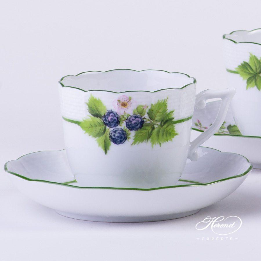 咖啡杯 – 浆果 – 赫伦细瓷